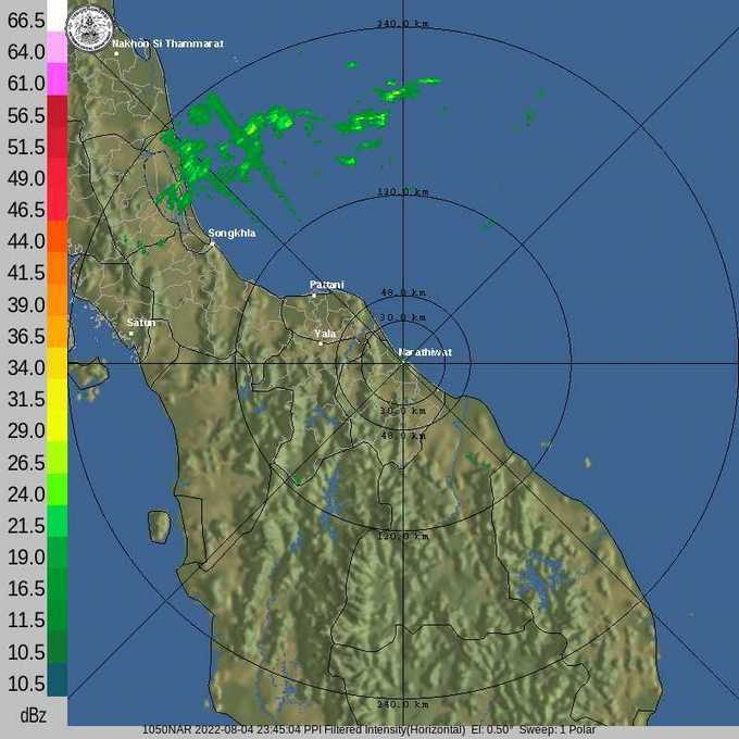 นราธิวาส Try hitting  the Refresh / Reload button to make certain you are viewing up-to-date radar image.